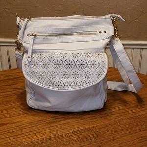Under one sky creme purse